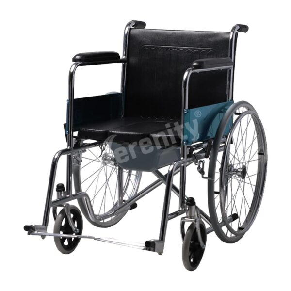 Serenity-Commode-Wheelchair-SR-609-2in1