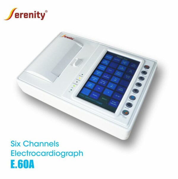 ECG Monitor 6 Channel type E.60A