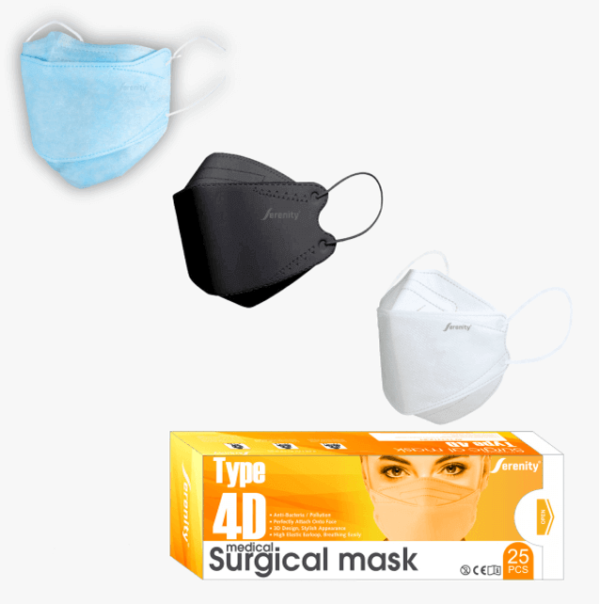 Serenity medical facemask 4D